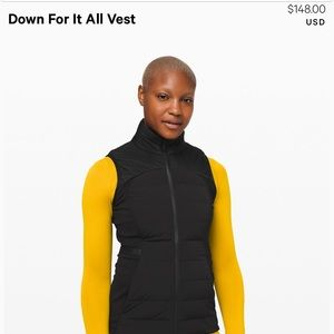 All the right places vest